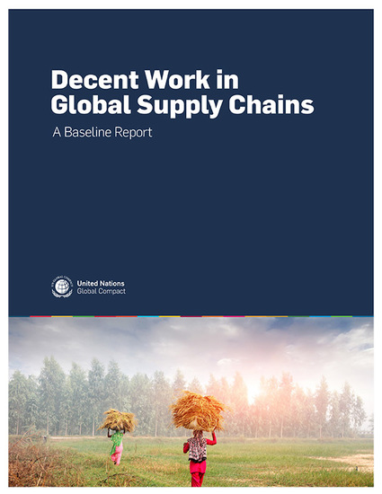 Decent Work in Global Supply Chains — A Baseline Report