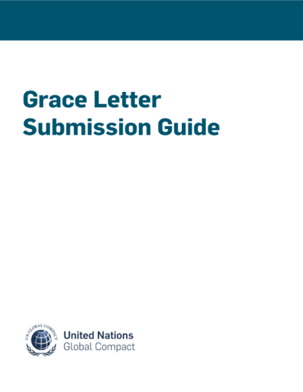 Grace Letter Submission Guide