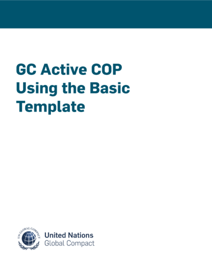 GC Active COP Using the Basic Template
