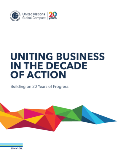 Uniting Businesses in the Decade of Action